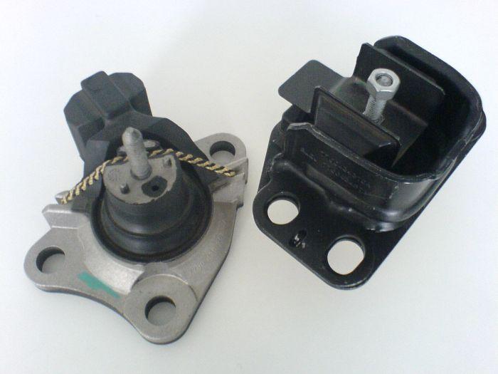 Support moteur hydro-élastique
